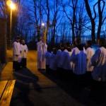 j + bílá sobota velikonoční svíce
