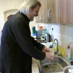 A nakonec Ivo umyl nádobí...